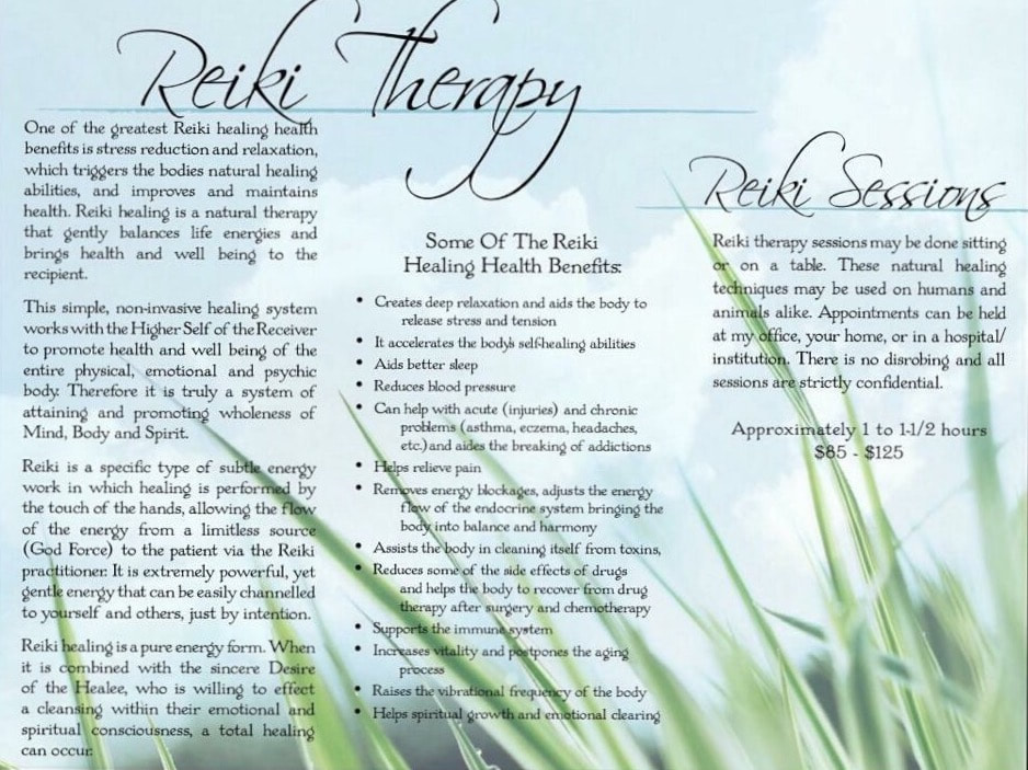 reiki therapy session